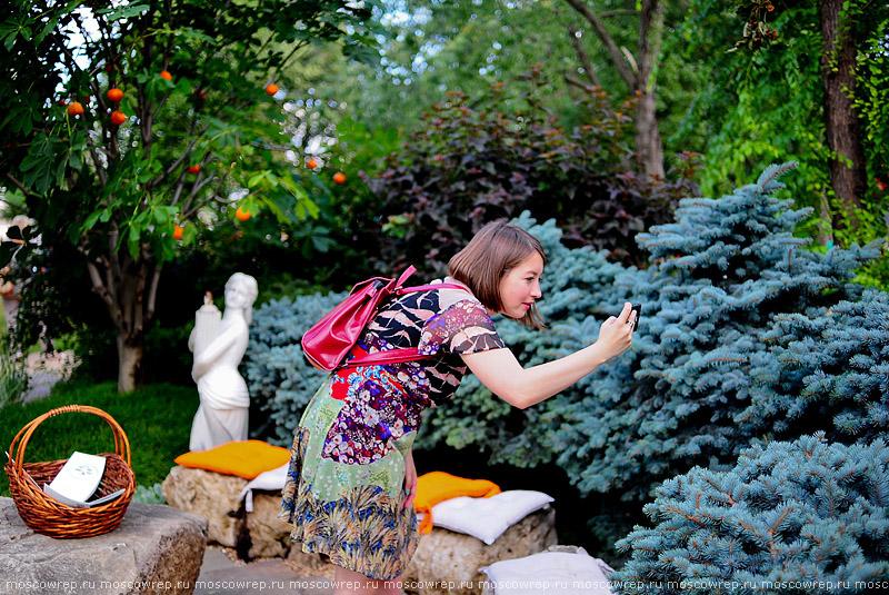 Москва, Московский репортаж, ВДНХ, фестиваль Сады и люди