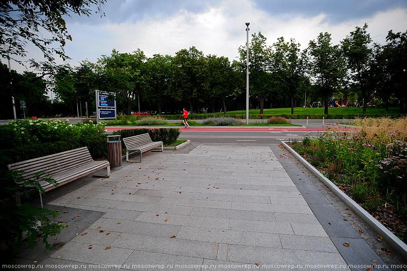 Московский репортаж, Москва, Лужники, Москва пешеходная