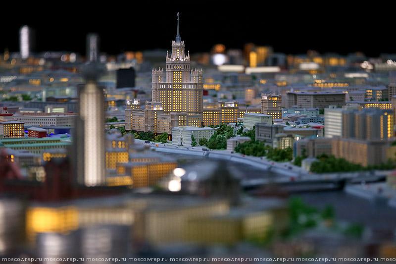 Московский репортаж, Москва, Макет Москвы, ВДНХ