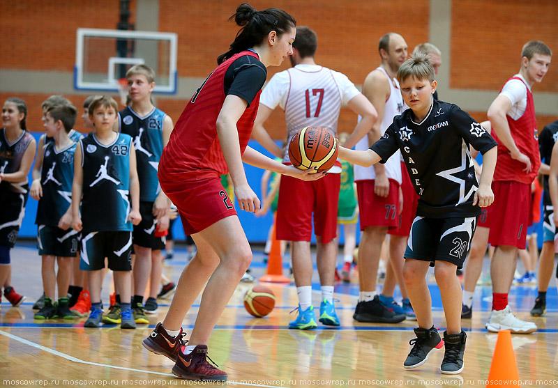 Московский репортаж, Москва, баскетбол, ПБК МБА, baskeball