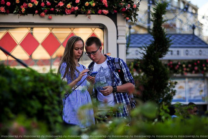 Московский репортаж, Москва, Московское лето, Цветочный джем, Московские сезоны