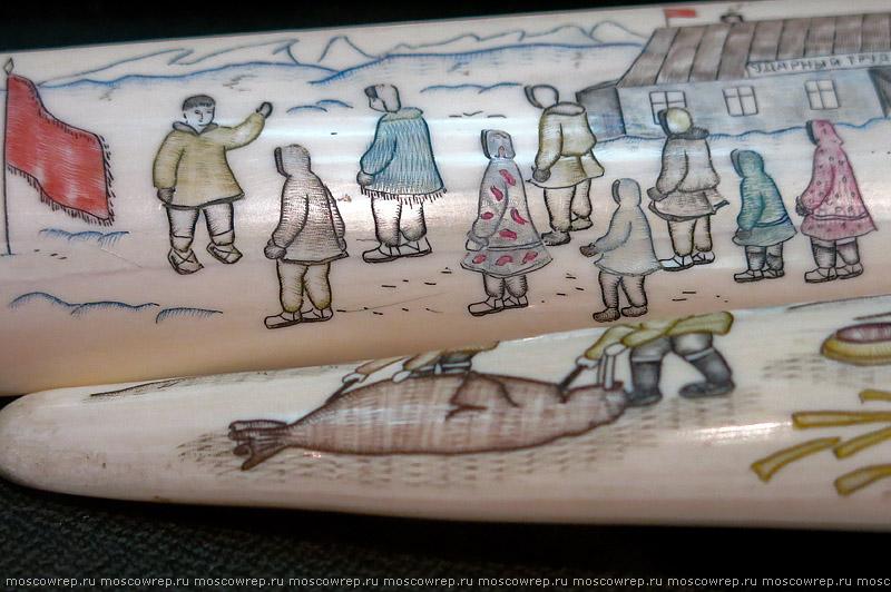 Московский репортаж, Москва,  Ночь в музее, резьба, косторезное искусство народного искусства, ВМДПНИ