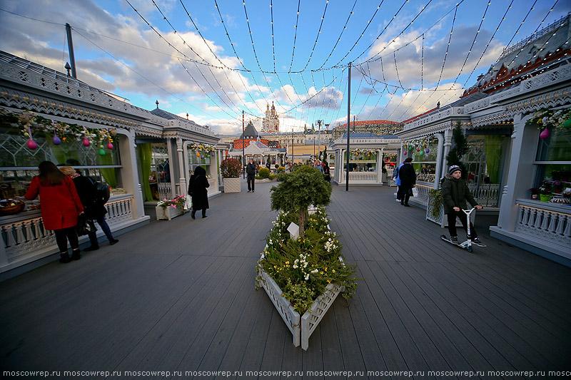 Московский репортаж, Москва, Пасха, Пасхальный дар