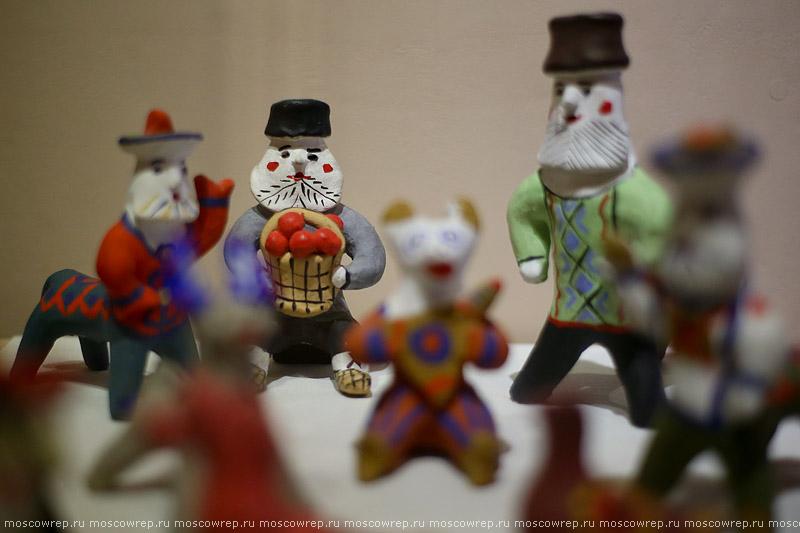 Москва, Московский репортаж, Коломенское, МГОМЗ, Почему свистит свистулька, ремесло, традиция