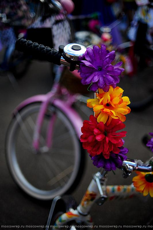 Московский репортаж, Москва, велосипед, велопарад, Леди на велосипеде, Сокольники, Sokolniki, veloparade, velo, parade