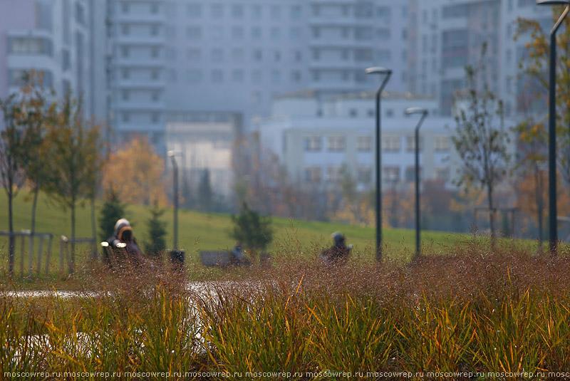 Московский репортаж, Москва, Ходынское поле, парки Москвы