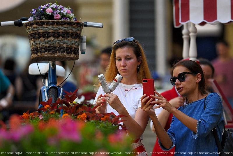 Московский репортаж, Москва, ГУМ, Фестиваль цветов