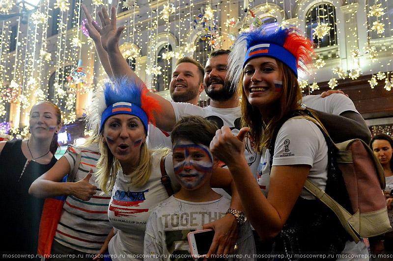 Московский репортаж, Москва, Никольская, Мундиаль2018, футбол, ЧМ-2018, Забивака, ФИФА, Russia, Moscow, FIFA, Mundial2018, Football