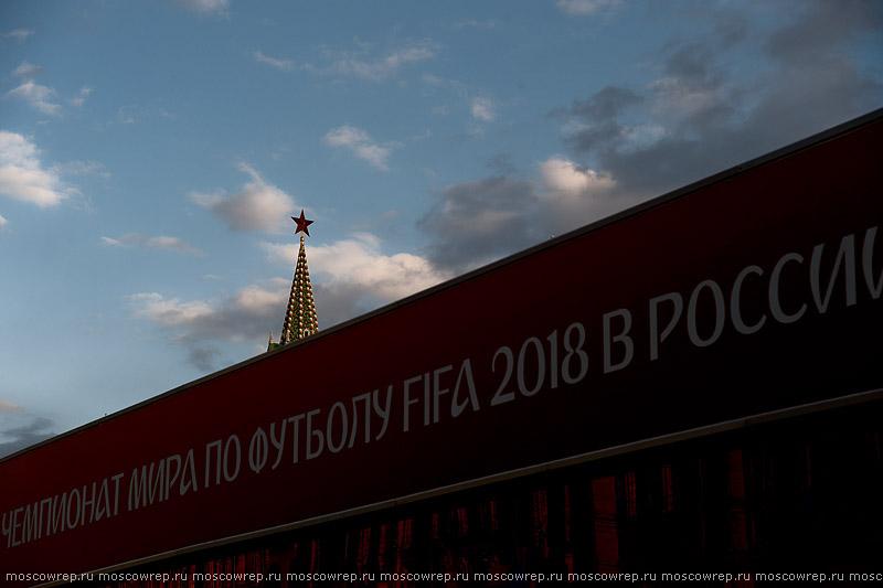 Московский репортаж, Москва, Красная площадь, Мундиаль2018, Парк FIFA, Забивака, ФИФА, Russia, Moscow, FIFA, Mundial2018, Football, Worldcup, Zabivaka