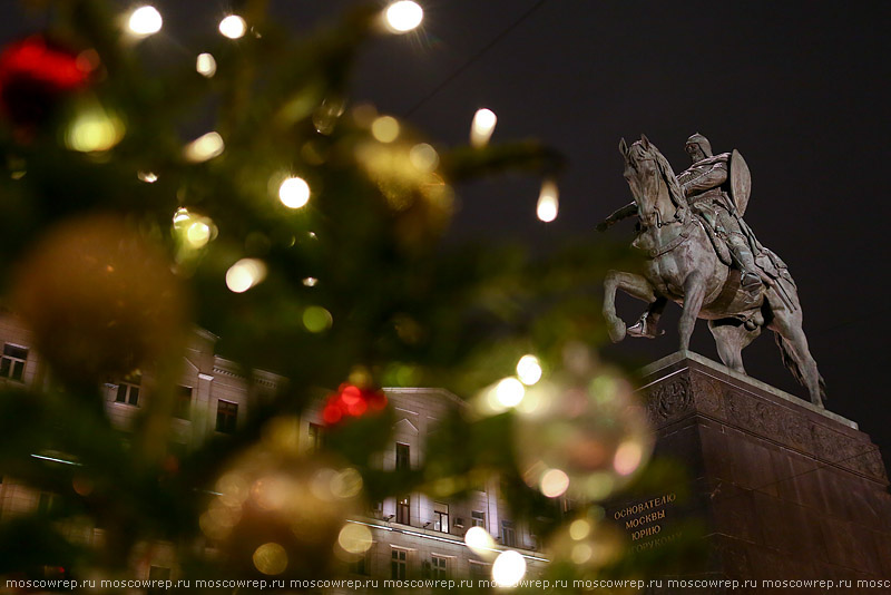 Москва, Московский репортаж, Путешествие в Рождество, Moscow, Russia, New Year, Happy New Year