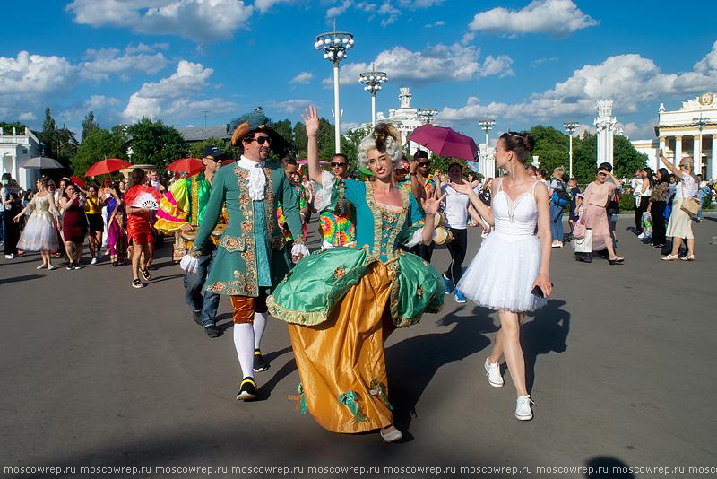 Москва, Московский репортаж, ВДНХ, Мировые балетные каникулы, Московские сезоны, Global ballet holidays