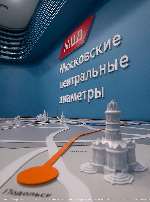 Москва, Московский репортаж, Киевский вокзал, МЦД, Иволга