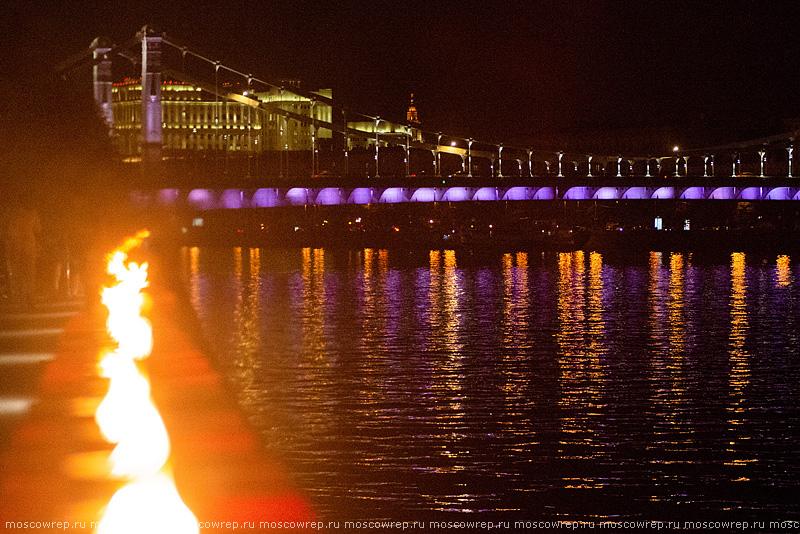 Московский репортаж, Москва, Крымская набережная, Линия памяти