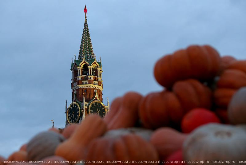 Московский репортаж, Москва, Красная площадь,Золотая осень, гастрономия